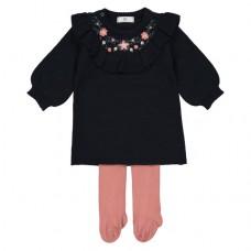 Комплект из 2 предметов: платье и колготки R mini 1490354 / GEU718